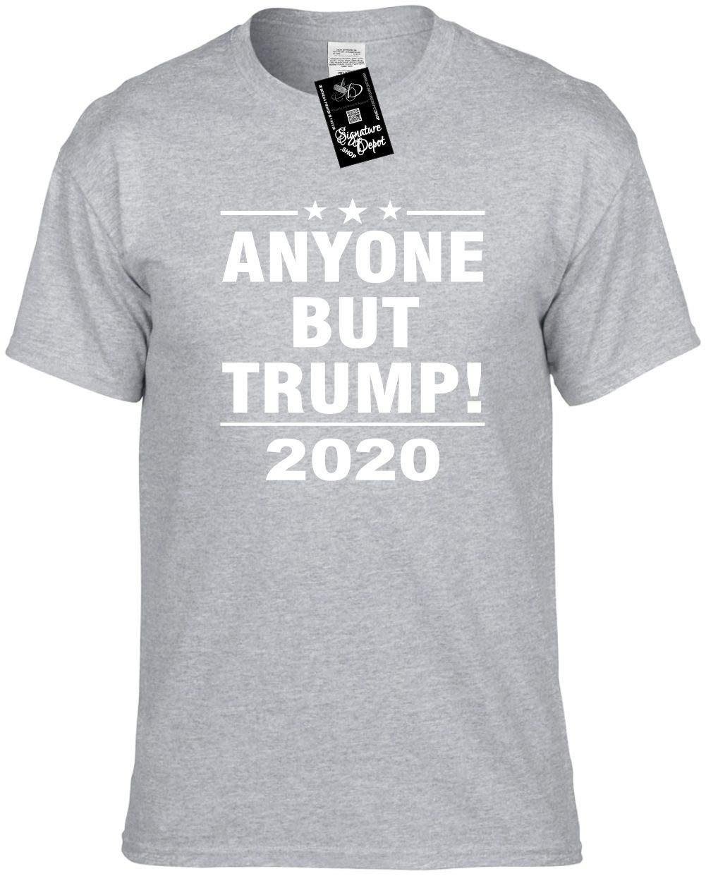 Funny Anyone But Trump 2020 Pres Election Unisex S Shirts