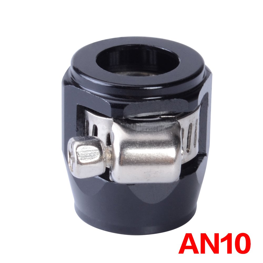 Daphot Store - AN10 Oil Fuel Hose Clamp Finisher HEX Finishers Aluminum Hose Connectors AN Hose Clamps