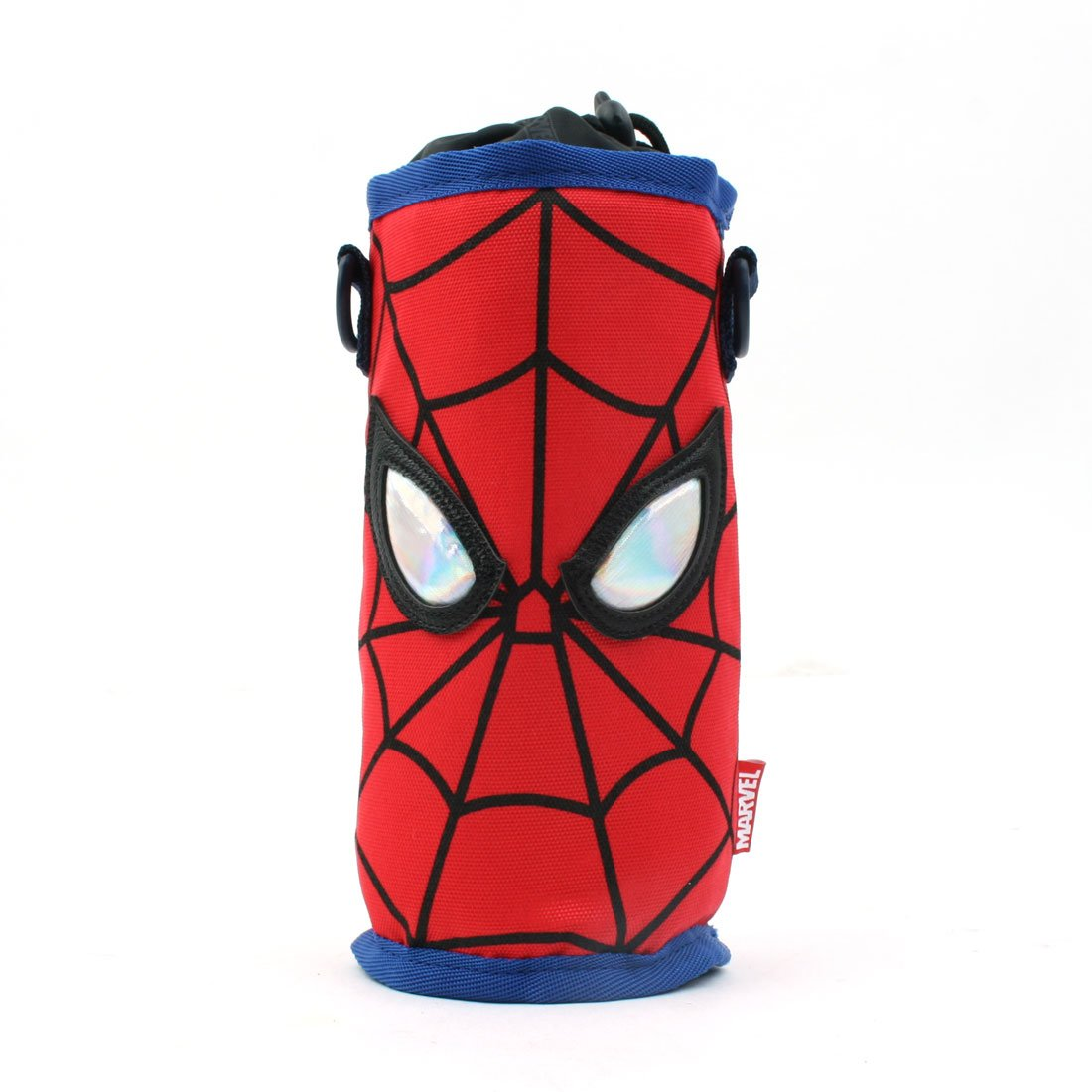 WINGHOUSE x Marvel Spider-Man Water Bottle Sleeve Bottle holder Cross body Bag with Shoulder Strap for Pre-Teen