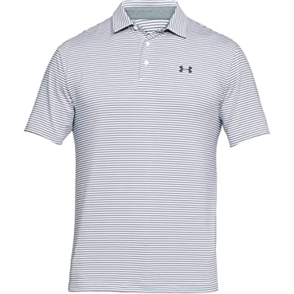 Under Armour Mens Playoff Polo, White (119)/Rhino Gray, XXX-Large ...