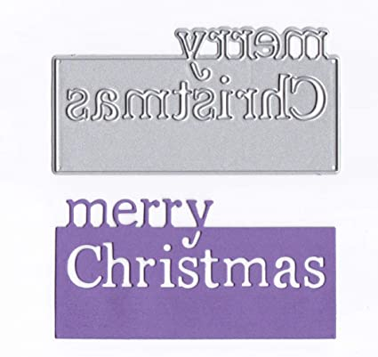 Christmas Metal Cutting Dies Card Making Scrapbooking Dies Embossing Stencil DIY