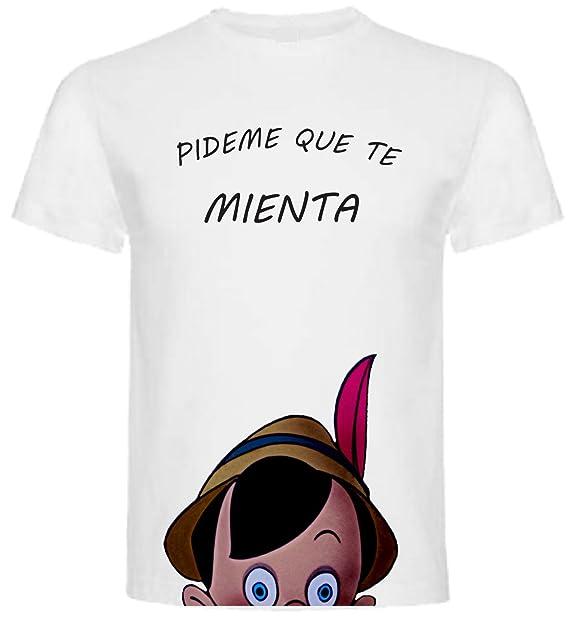 Camiseta de Hombre Divertidas PINOCHO Pinocchio Disney Divertida Funny Graciosa: Amazon.es: Ropa y accesorios