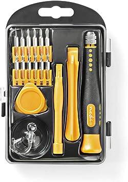 NEDIS CSTS10017 Kit de Herramientas | 17 en 1 | para Reparación de ...