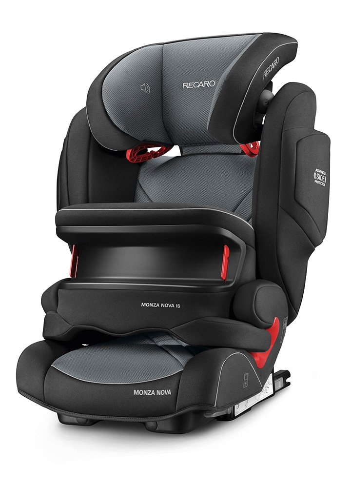 Recaro Monza Nova IS Group 1/2/3 Car Seat, Carbon Black 6148.21502.66