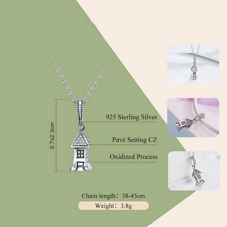 CS-DB Pendants Home Silver Necklaces