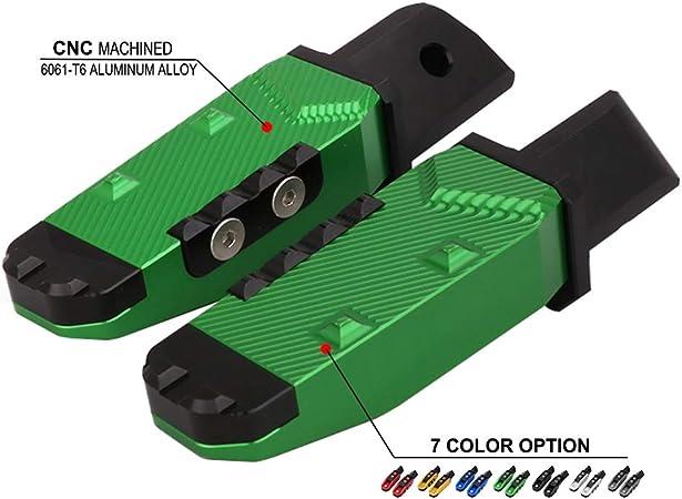 AnXin Moto pedane pedane Pedali poggiapiedi CNC per Kawasaki zx-6r zx-10r zx-7r zx-9r zx-12r Z750/Z800/Z1000