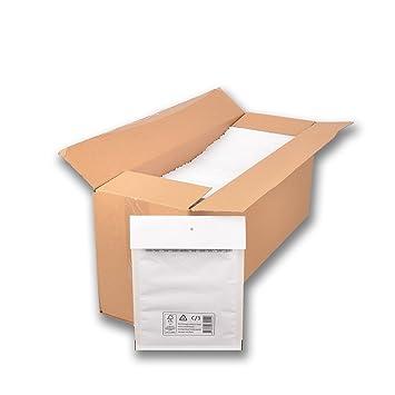 200 Luftpolstertaschen C3 Polsterumschläge Versandtaschen weiß