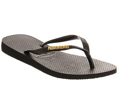 11444b891 Havaianas Slim Logo Metallic Exclusive  Amazon.co.uk  Shoes   Bags