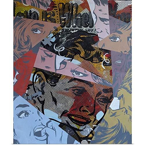(GREATBIGCANVAS Poster Print Entitled Love is Where by Dan Monteavaro 10