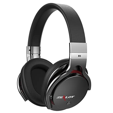 ZEALOT B5 Bluetooth Wireless Headset Audífonos Sobre la Oreja a Mano Libre del Jugador de Llamada
