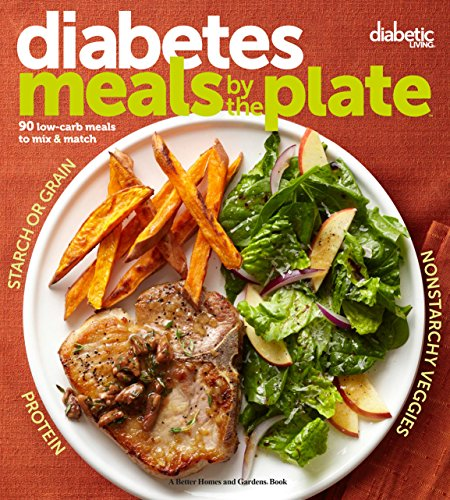 Diabetic Living Diabetes Meals by the Plate: 90 Low-Carb Meals to Mix & Match (Best Breakfast Recipes For One)