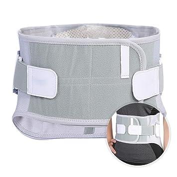 Faja Lumbar ajustable calefacción 4 resortes Soporte Lumbar para Aliviar el Dolor y Lesiones Faja lumbar para la espalda para hombres/mujer(XXL): Amazon.es: ...