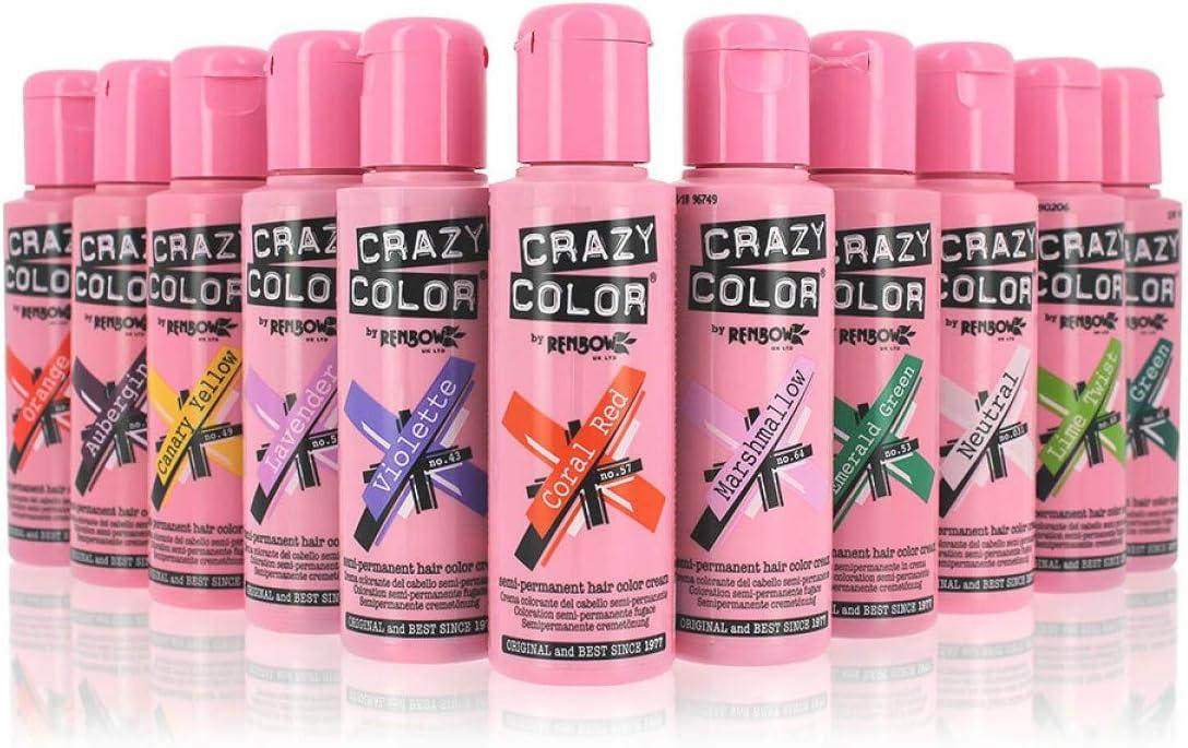 Crazy Color Tinte temporal semipermanente de crema 100 ml ...