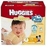 Huggies Little Snugglers Plus Size 2, 174 Pack by Huggies