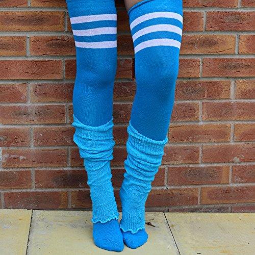 Turquoise Pairs Colors 2 Bright Balletto Fashion Girls Adam Eesa 3 or 1 Leggings Women's wUgnO