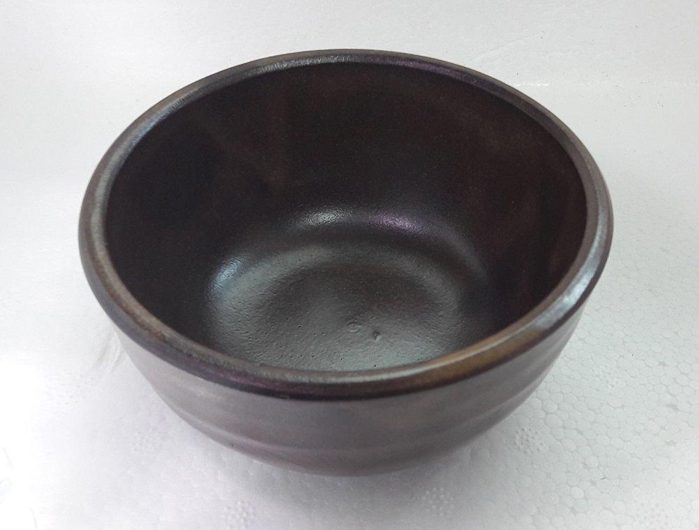 Korean Raw Rice Wine Set of 4 Korean Traditional Ceramic Bowls for Makgeolli Dongdongju
