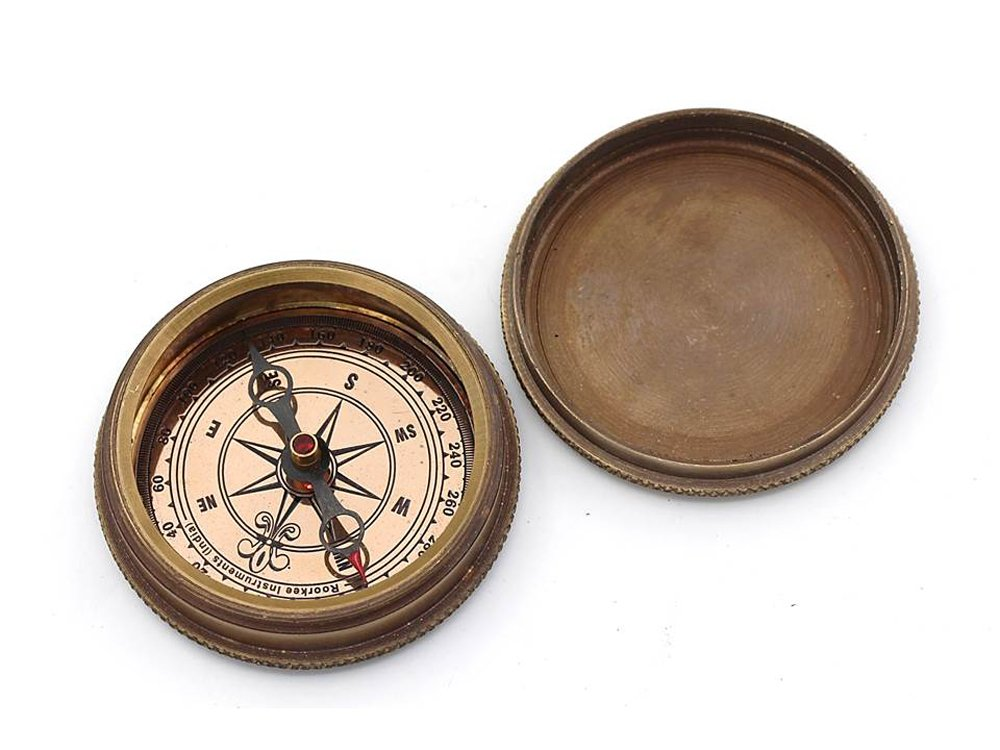 So you can always find you way back home Compass with Case Roorkee Instruments India RIIFA126