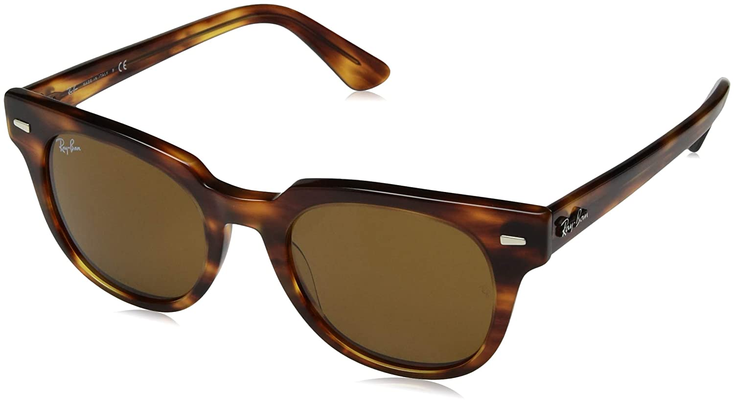 Amazon.com: Ray-Ban RB2168 Meteor Evolve Square Sunglasses ...