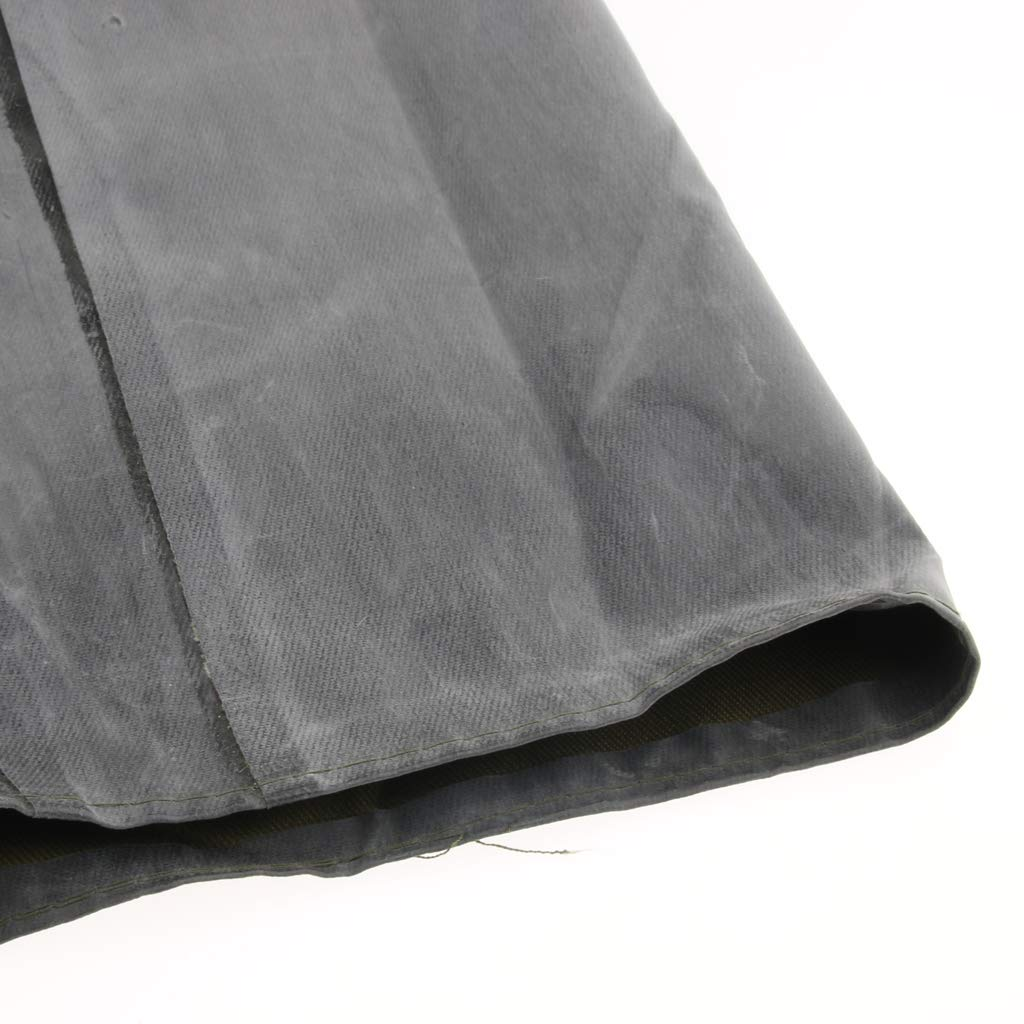 Baosity Rubber Raincoat Labor Protection Raincoat Thicken Canvas Poncho Cloth by Baosity (Image #9)