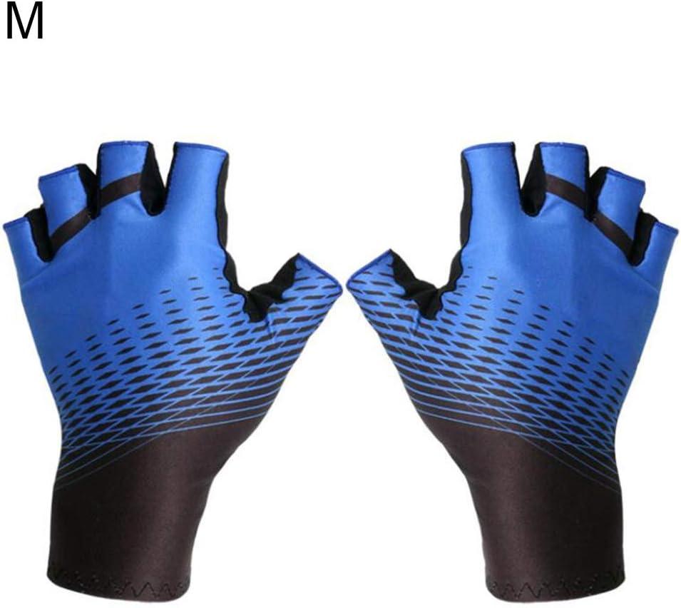 Talla L Antideslizantes Unisex Whiie891203 Guantes c/álidos de Invierno 1 par de Guantes de Verano para Ciclismo al Aire Libre Transpirables Color Azul