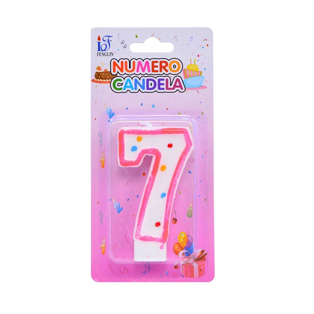 Starter Vela de Cumpleaños - Innovador colorido sin humo ...