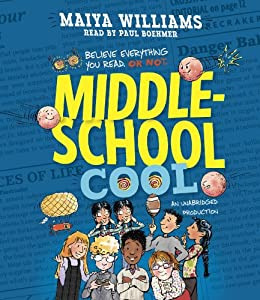 Middle-School Cool Audiobook