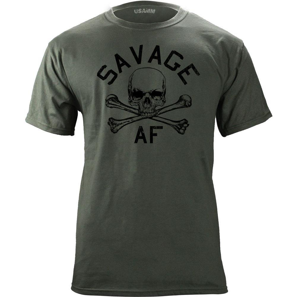27207e54e39d Amazon.com: USAMM Original Savage AF T-Shirt: Clothing
