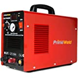 "PRIMEWELD 50A CUT50DP NonTouch Pilot Arc Air Inverter Plasma Cutter Dual Voltage 110/220VAC 1/2"" Clean Cut"
