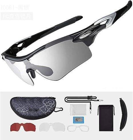YQYQ Gafas De Montar, Gafas Fotocromáticas Hombres Y Mujeres Gafas De Sol Polarizadas Deportivas Adecuado Deportes Al Aire Libre como Golf, Ciclismo, Conducción: Amazon.es: Deportes y aire libre
