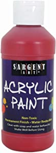 Sargent Art 22-2320 8-Ounce Acrylic Paint, Red