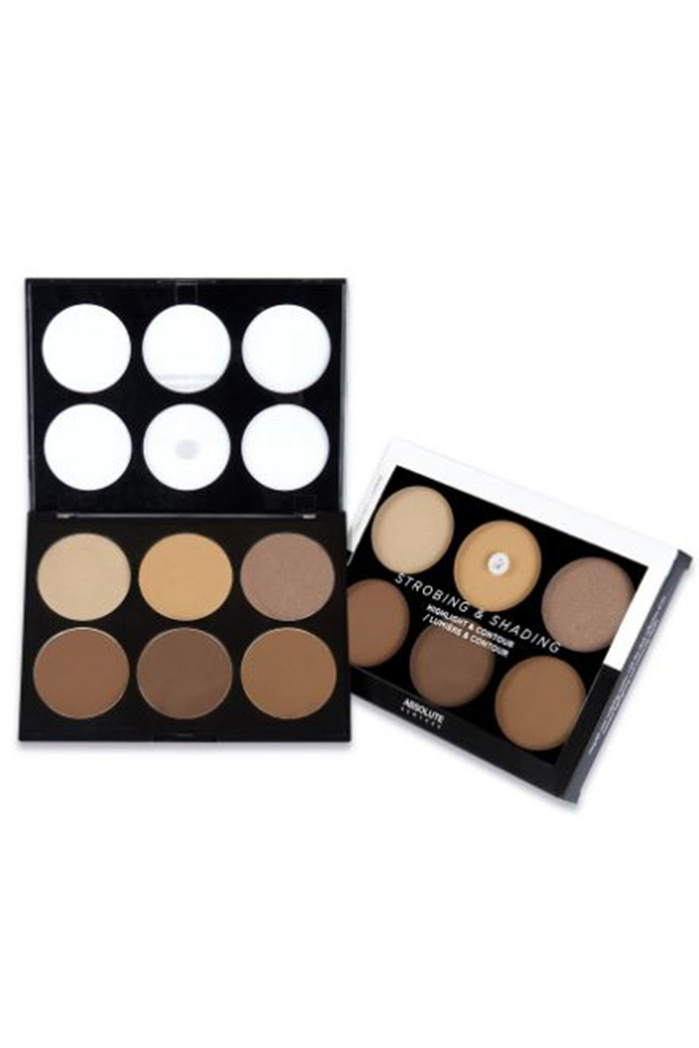Womens Pro Highlighting & Contouring Shading Palette AHC (AHC02 Tan To Deep)
