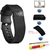 Sibode fitbit charge hr replacement bands large and Small Size or fitbit charge hr band cover