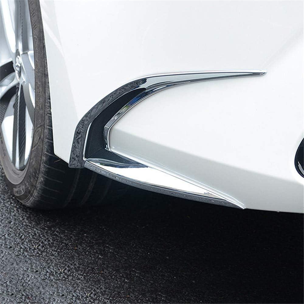 Car Accessories Front Fog Light Lamp Strip Decor Cover Trim ABS Chrome 2PCS E210 YUZHONGTIAN 2019-2020 for Toyota Corolla Sedan