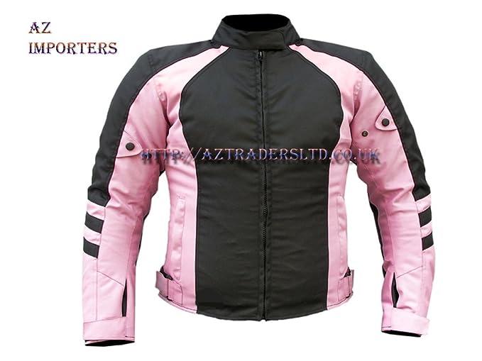 By AZ última diseño de pana chaqueta de color rosa para mujeres con calidad premium Rosa