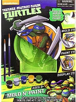Tara Toy Corporation Teenage Mutant Ninja Turtles Mold N Paint