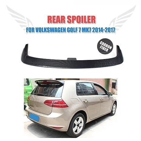 jcsportline de fibra de carbono trasero techo Alerón para Golf Mk7 non-gti non-