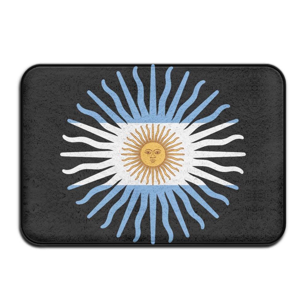 Fuucc-6 Inside & Outside Entrance Custom Doormat Argentina Flag Design Pattern For Dining