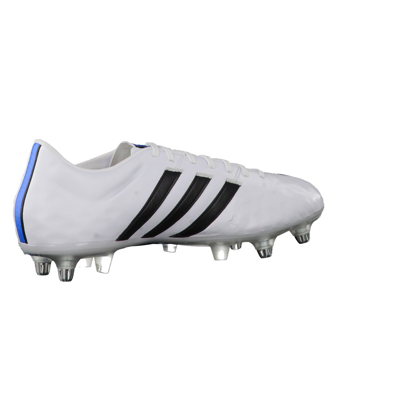 purchase cheap beb9d 247ce Adidas 11Pro TRX SG Mens Football Boots White ftwr whitecore blacksolar  blue2 s14 Size48 (EU) Amazon.co.uk Sports  Outdoors