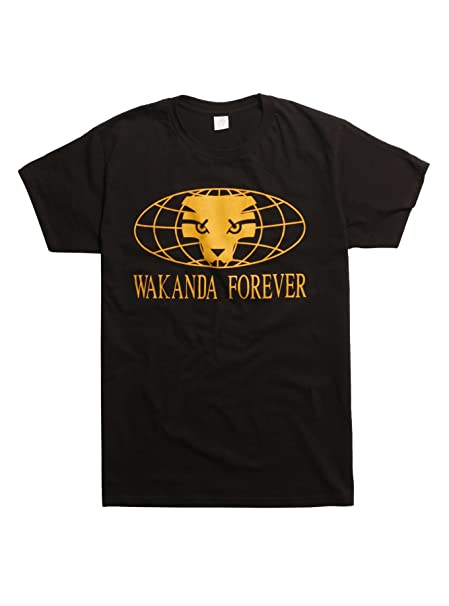 8bc4ab455 Marvel Black Panther Wakanda Forever T-Shirt (XL) | Amazon.com