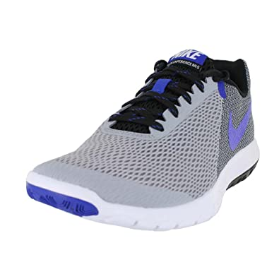 1aa0d4c11f4 Nike Mens Flex Experience RN 5 Wolf Grey Racer Blue-Black-WHI Size 6  Buy  Online at Low Prices in India - Amazon.in