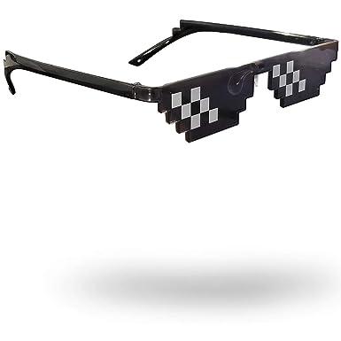 WhollyTech Thug Life - Gafas de sol con texto en inglés Deal ...