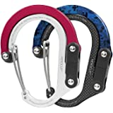 HEROCLIP Carabiner Clip and Hook (Small) | For Purse, Stroller, and Backpack