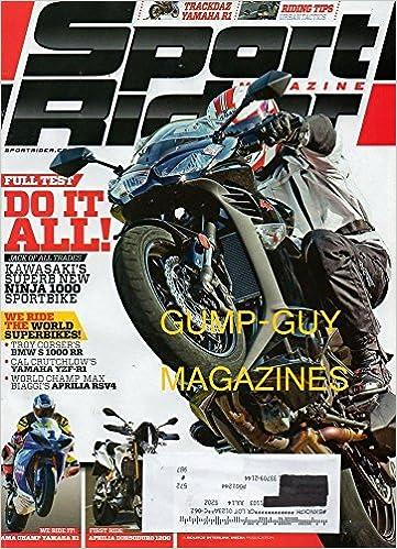 Sport Rider Magazine April 2011 TRACKDAZ YAMAHA R1 ...