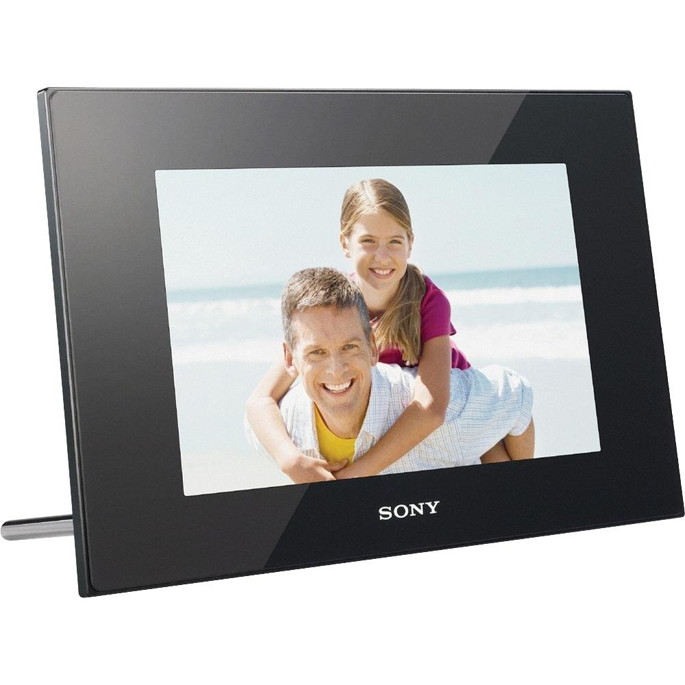 amazoncom sony dpf d1010 102 inch wvga lcd 1610 digital photo frame black digital picture frames camera photo