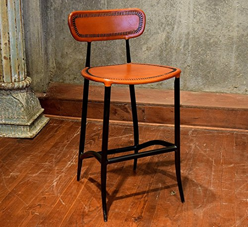 William Sheppee USA BRS022A Rocket Counter Stool