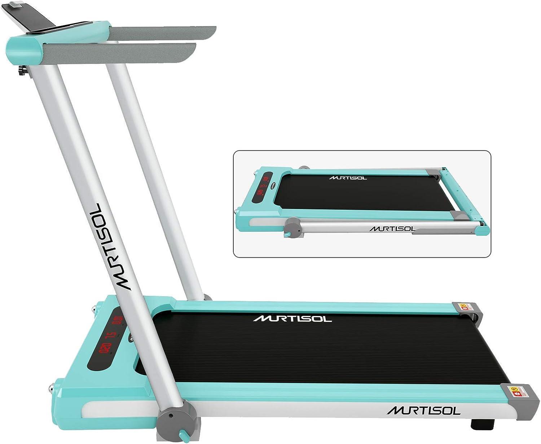 #3 Murtisol Folding 2 in 1 Treadmill