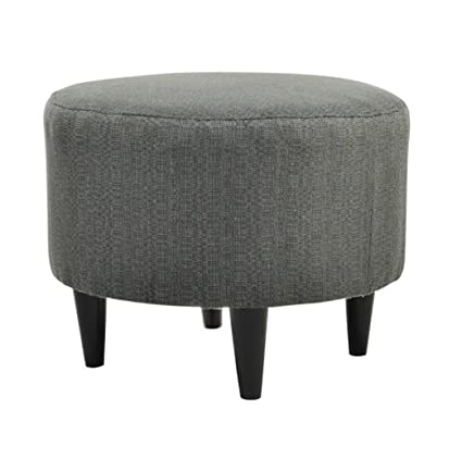 Terrific Amazon Com Round Ottoman Chair Coffee Table Extra Seating Alphanode Cool Chair Designs And Ideas Alphanodeonline