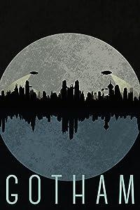 Gotham City Skyline Fantasy Travel Cool Wall Decor Art Print Poster 12x18