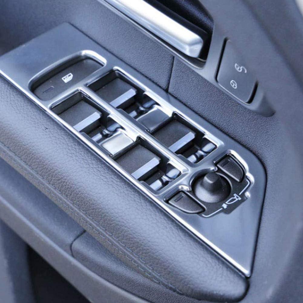 RETYLY Interruttore Porta Finestra Interna Copertura Pannello Cornice Cornice Modanatura Datta per Range Rover Evoque