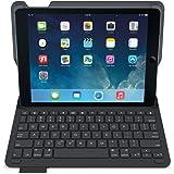 Logitech 5099206054042 iPadAir Étui Clavier | Type + avec Clavier sans fil et Bluetooth (Claiver Allemande QWERTZ , Noir)